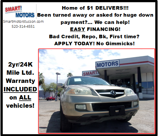 Pre-Owned 2005 Acura MDX Sport Utility In Tucson #S7558